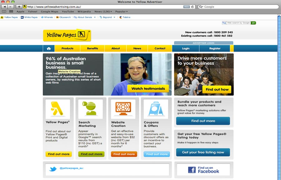 Yellow Advertising - CHE Proximity